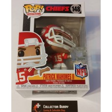 Funko Pop! Football 148 Patrick Mahomes II Kansas City Chiefs NFL Pop Vinyl FU50979