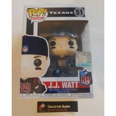 Funko Pop! Football 51 J.J. JJ Watt Houston Texans NFL Pop Vinyl Figure FU31724