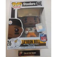 Funko Pop! Football 52 Le'veon Bell Pittsburgh Steelers NFL Pop Leveon Le Veon FU31747