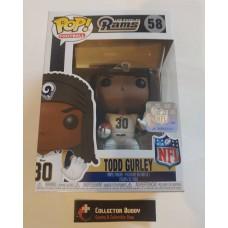 Funko Pop! Football 58 Todd Gurley Los Angeles Rams NFL Pop Vinyl Figure FU31726