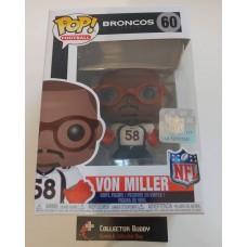 Damaged Box Funko Pop! Football 60 Von Miller Denver Broncos NFL Pop Vinyl Figure FU31773