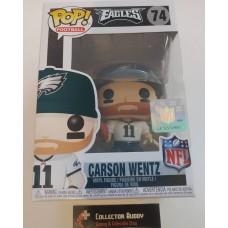Funko Pop! Football 74 Carson Wentz Philadelphia Eagles NFL Pop Vinyl Figure FU31727