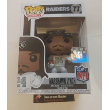 Funko Pop! Football 77 Marshawn Lynch Oakland Raiders NFL Pop Vinyl Figure FU31730