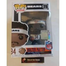 Funko Pop! NFL 78 Legends Walter Payton White Jersey Chicago Bears Pop Figure FU33301