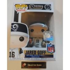 Funko Pop! Football 95 Jared Goff Los Angeles Rams NFL Pop Vinyl Figure FU31725