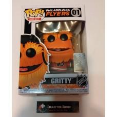 Damaged Box Funko Pop! Hockey 01 Gritty Philadelphia Flyers Mascot NHL Pop Vinyl FU43549