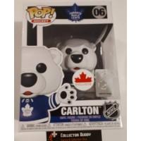 Funko Pop! Hockey 06 Carlton Bear Toronto Maple Leafs NHL Pop Canada Exclusive FU43069