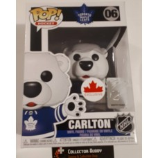 Funko Pop! Hockey 06 Carlton Bear Toronto Maple Leafs NHL Pop Canada Exclusive FU43069