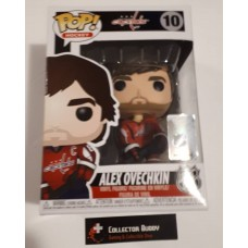 Damage Box Funko Pop! NHL 10 Alex Ovechkin Home Jersey Vinyl Action Figure FU11216