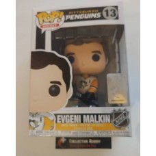 Funko Pop! Hockey 13 Evgeni Malkin Pittsburgh Penguins White Away NHL Pop Vinyl FU34322