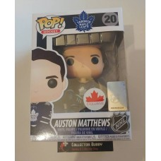 Funko Pop! Hockey 20 Auston Matthews Toronto Maple Leafs NHL Pop Canada Exclusive