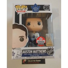 Funko Pop! Hockey 20 Auston Matthews Pop 2018 Canadian Convention Exclusive