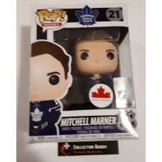 Damaged Box Funko Pop! NHL 21 Mitchell Marner Home Jersey Canada Exclusive Pop Vinyl FU21267