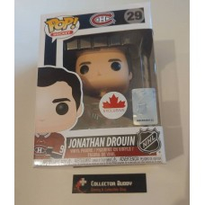 Funko Pop! Hockey 29 Jonathan Drouin Montreal Canadiens NHL Pop Canada Exclusive