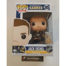 Damaged Box Funko Pop! Hockey 35 Jack Eichel Buffalo Sabres NHL Pop Vinyl Figure FU34323