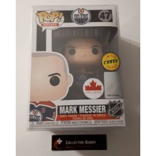 Limited Chase Funko Pop! NHL 47 Mark Messier Oilers w/ Cup Canada Exclusive Pop