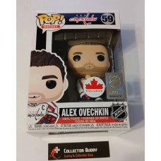 Damaged Box Funko Pop! Hockey 59 Alex Ovechkin Washington Capitals NHL Pop Vinyl Figure FU50639