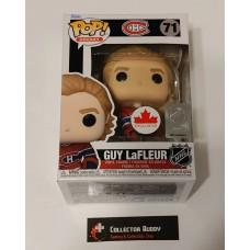 Funko Pop! Hockey 71 Guy LeFleur Montreal Canadiens NHL Pop Canada Exclusive FU58190