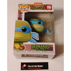 Funko Pop! Retro Toys 16 Teenage Mutant Ninja Turtles Leonardo Pop Vinyl TMNT FU51435