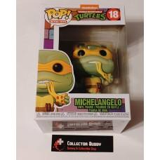 Funko Pop! Retro Toys 18 Teenage Mutant Ninja Turtles Michelangelo Pop TMNT FU51433