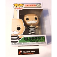 Funko Pop! Retro Toys 32 Monopoly Mr. Mononpoly in Jail Uncle Pennybags Pop FU51898