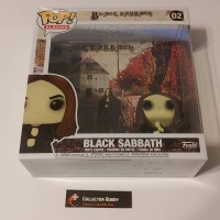 Funko Pop! Albums 02 Black Sabbath Rocks Music Pop Vinyl Action Figures FU53077