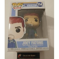 Minor Box Damage Funko Pop! Music Rocks 114 N'Sync Joey Fatone Pop Vinyl FU34541 N Sync NSync