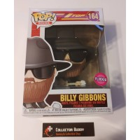 Funko Pop! Music Rocks 164 ZZ Top Billy Gibbons Flocked Pop Vinyl Figure FU41150