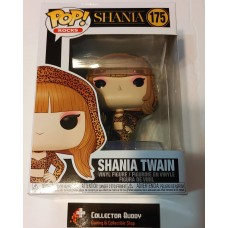 Damaged Box Funko Pop! Music Rocks 175 Shania Twain Pop Vinyl Action Figures FU46929