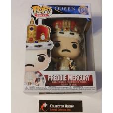 Funko Pop! Music Rocks 184 Queen Freddie Mercury King Pop Vinyl Figure FU50149