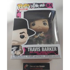 Funko Pop! Music Rocks 84 Blink 182 Travis Barker Pop Vinyl Figure FU32692