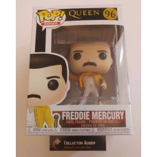 Damaged Box Funko Pop! Music Rocks 96 Queen Freddie Mercury 1986 Pop Vinyl Figure FU33732