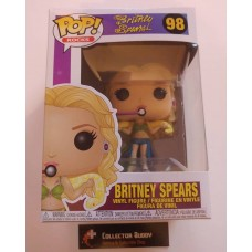 Funko Pop! Music Rocks 98 Britney Spears Pop Vinyl Figure FU36651