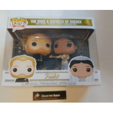 Funko Pop! Royals Duke & Duchess of Sussex Meghan Markle Harry Wedding 2pack pop FU35720