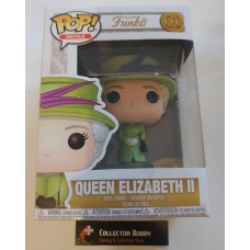 Funko Pop! Royals 01 Royal Wedding Green Queen Elizabeth II 2 2nd Pop Vinyl FU35723
