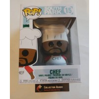 Rattling in Head Funko Pop! South Park 15 Chef Pop Vinyl Figure FU32859