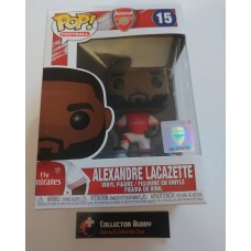 Funko Pop! Football 15 Arsenal Alexandre Lacazette Pop Vinyl Figure FU39912