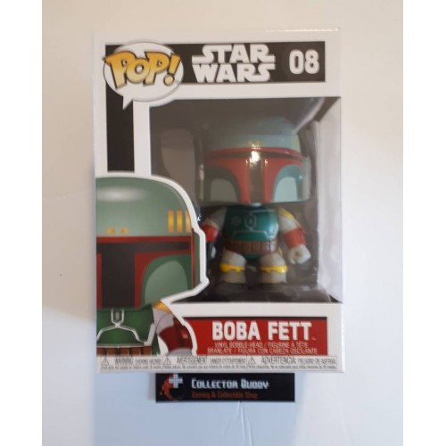 STAR WARS BOBA FETT #08 BOBBLE HEAD POP VINYL