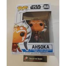 Damaged Box Funko Pop! Star Wars 268 Clone Wars Ashoka Pop Vinyl Action Figure Bobble Head FU32956