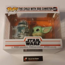 Funko Pop! Star Wars 407 The Mandalorian The Child with Egg Canister Deluxe Pop FU50962