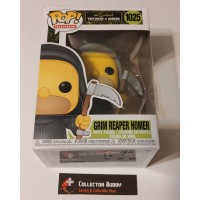 Damaged Box Funko Pop! Television 1025 The Simpsons Treehouse of Horror Grim Reaper Homer Pop FU50137