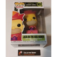 Funko Pop! Television 1031 The Simpsons Horror Jack in the Box Homer Pop Vinyl  FU50145
