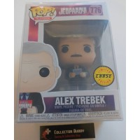 Limited Chase Funko Pop! Television 776 Jeopardy! Alex Trebek Pop Mustache FU38598