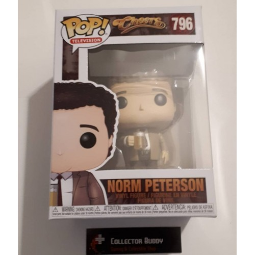 Cheers™ Funko Pop Television Norm Peterson Vinyl Figure Item #39345
