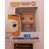 Funko Pop! Television 806 Stranger Things Max Pop Vinyl Figure FU38531