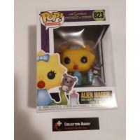Minor Box Damage Funko Pop! Television 823 The Simpsons Treehouse of Horror Alien Maggie Pop FU39727