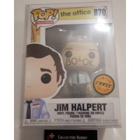 Limited Chase Funko Pop! Television 870 The Office Jim Halpert Facebook Pop FU34903