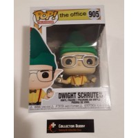 Funko Pop! Television 905 The Office Dwight Schrute As Elf Holiday Christmas Pop FU43429