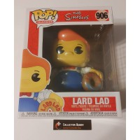 "Funko Pop! Television 906 The Simpsons Lard Lad Doughnut Supersized 6"" Pop Vinyl FU52963"