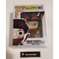 Funko Pop! Television 907 The Office Dwight Schrute As Belsnickel Holiday Pop FU43431